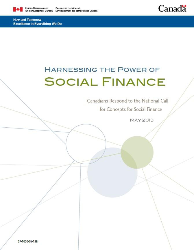 harnessing power of social finance full cover