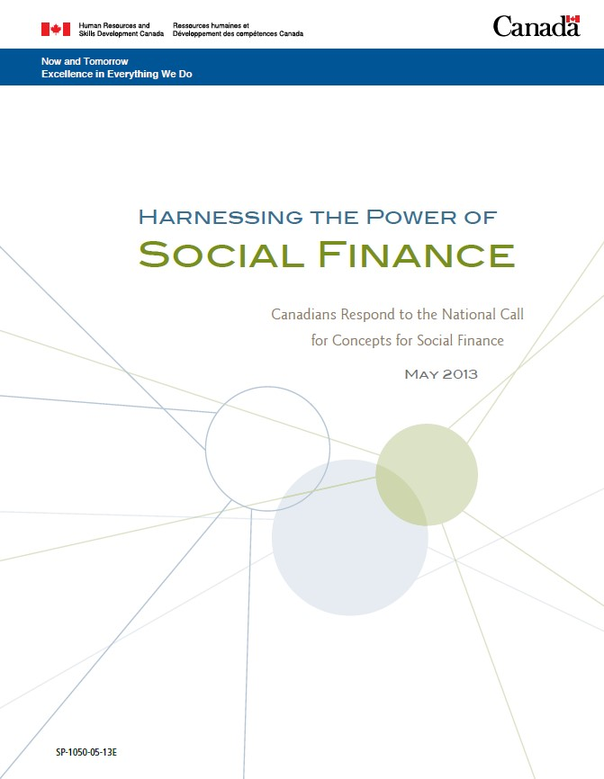 harnessing power of social finance full cover